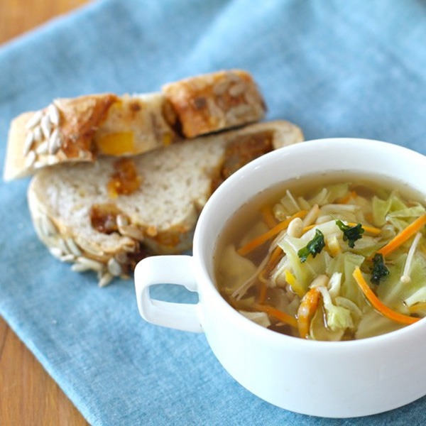 スープにひとつまみ